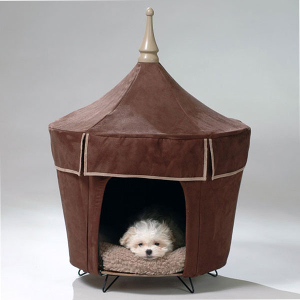 Pet tent ... & Viva Le Chocolate Pet Tent a luxurious pet bed for small dogs